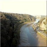 ST5673 : Avon Gorge from Clifton Suspension Bridge by Robert Eva