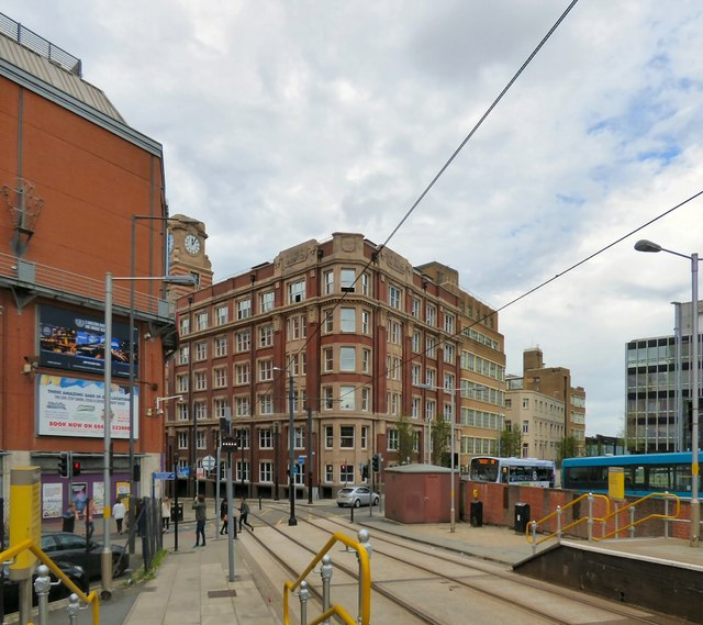 Shudehill and the Hanover Building