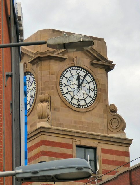 The Co-operative's clock
