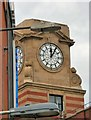 SJ8498 : The Co-operative's clock by Gerald England