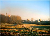 SK2319 : Cooling Tower Demolition at Drakelow Power Station by Jonathan Clitheroe