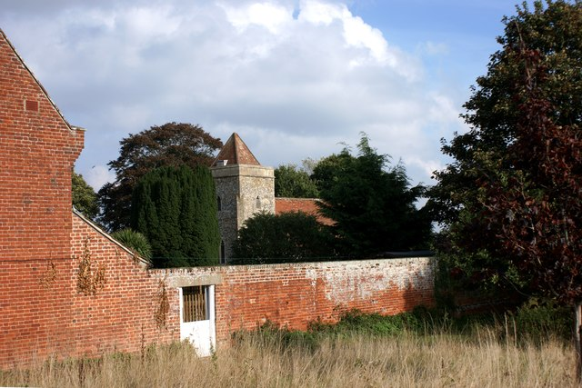 Boyton church from the south west