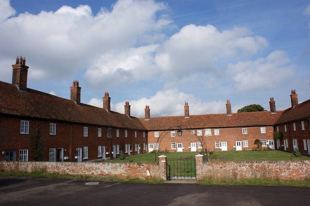 The Mary Warner Almshouses, Boyton