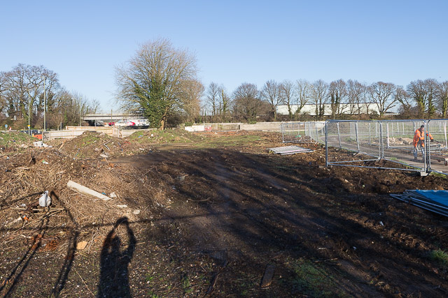 Site for housing development beside Woodside Avenue