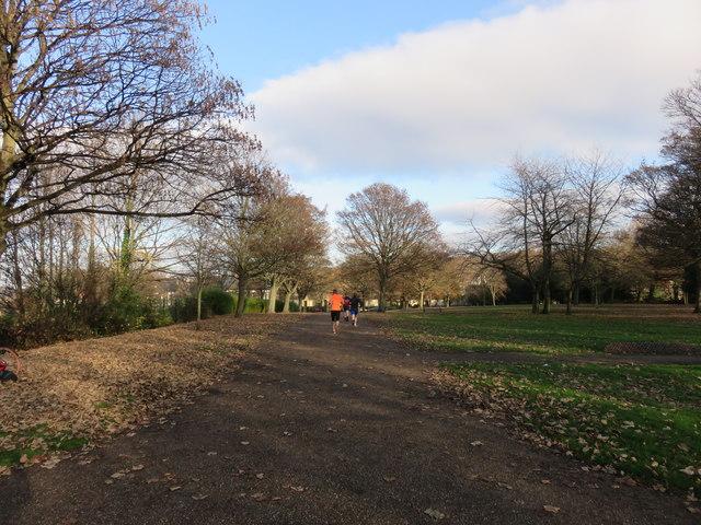 Path near the Cholera Monument, Sheffield
