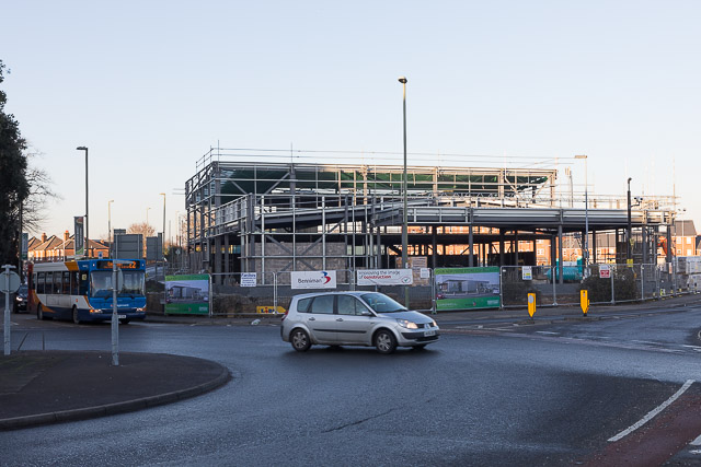 New Marks & Spencer Food Store under construction