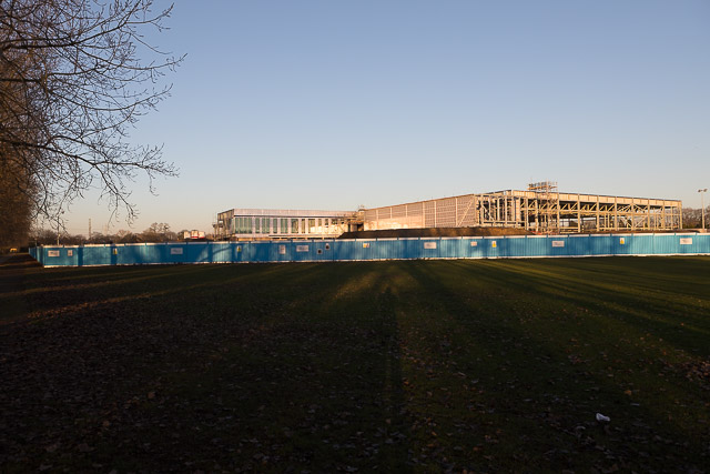 New Sports Centre being built in Fleming Park