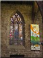 SJ6552 : St Mary, Nantwich: Harry Clarke window by Stephen Craven