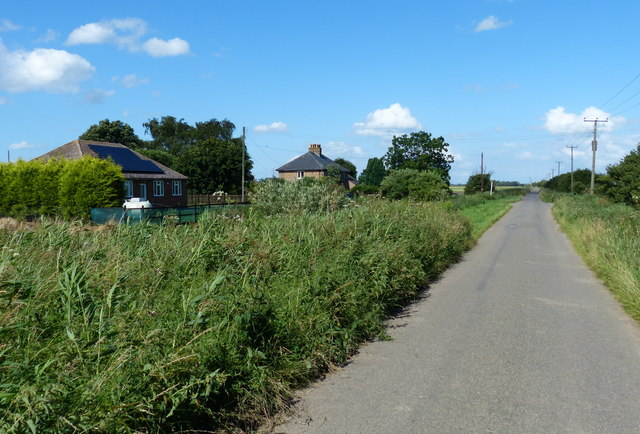 Speedwell Cottages along Long Drove