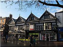SJ6552 : 42-44 High Street, Nantwich by Stephen Craven