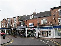 SJ6552 : Pillory Street, Nantwich by Stephen Craven