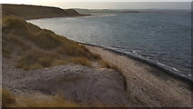 NU1535 : Budle Bay Dunes near Heather Cottages by Clive Nicholson