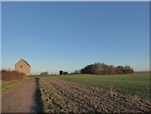 TM0308 : Approaching St Peter-on-the-Wall, Bradwell-on-sea by Basher Eyre