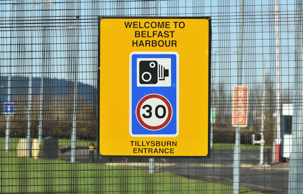 Welcome to Belfast harbour (January 2017)