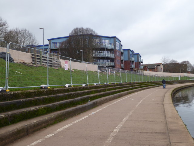Exe flood defence works - Exeter