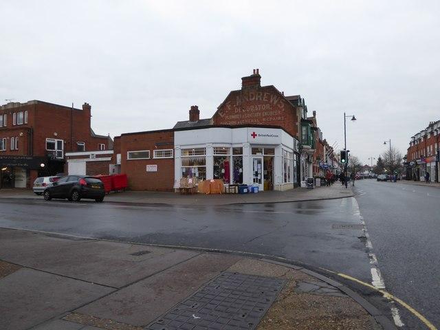 Junction of Hamilton and Gainsborough Roads
