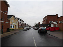 TM3034 : Looking from Hamilton Road into Gainsborough  Road by Basher Eyre