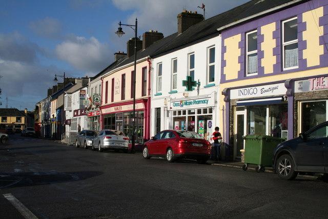 Castletownbeara:  Street view