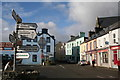 V6746 : Castletownbeara: Road junction with signpost by Dr Neil Clifton