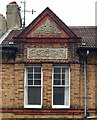 TQ2804 : Pedimented gable, Stirling Place, Hove by Julian Osley