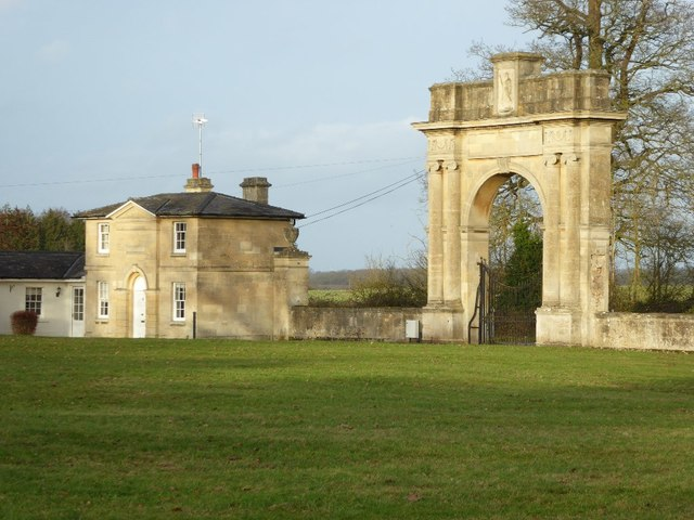 Pershore Gate and Lodge, Croome Park