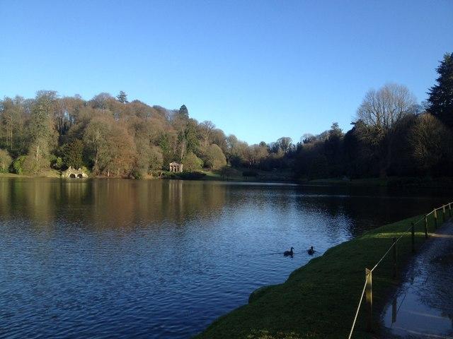 The Garden Lake at Stourhead gardens