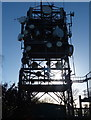 SK4613 : Transmitter mast on Bardon Hill by Mat Fascione