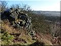 SK4613 : Rocky crag on Bardon Hill by Mat Fascione