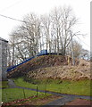 NJ7805 : Former surge tank for Garlogie hydroelectric scheme by Bill Harrison
