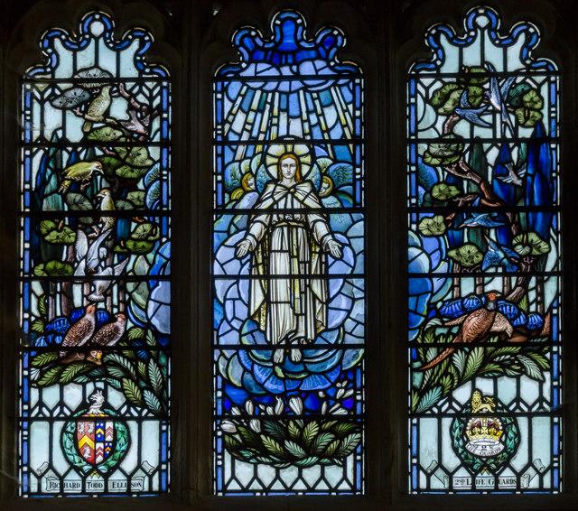 East window, Ss Andrew & Mary church, Stoke Rochford