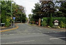 SJ6652 : St Joseph's Way, Nantwich by Jaggery