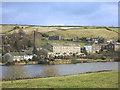 SE0334 : Sykes Mill by Leeming Reservoir by Des Blenkinsopp