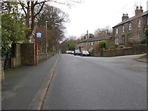SE0511 : Carrs Road - viewed from Peel Street by Betty Longbottom