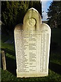 TQ3355 : Caterham Cemetery: Guards Memorial (a) by Basher Eyre