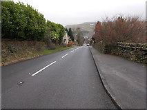 SE0511 : Meltham Road - viewed from Gate Head by Betty Longbottom