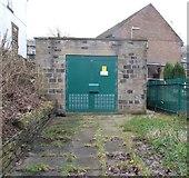 SE0511 : Electricity Substation  - Meltham Road by Betty Longbottom