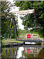 SJ5141 : Lift Bridge west of Whitchurch, Shropshire by Roger  Kidd
