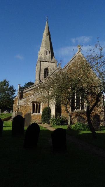 Billesdon, Leics - St John the Baptist Church