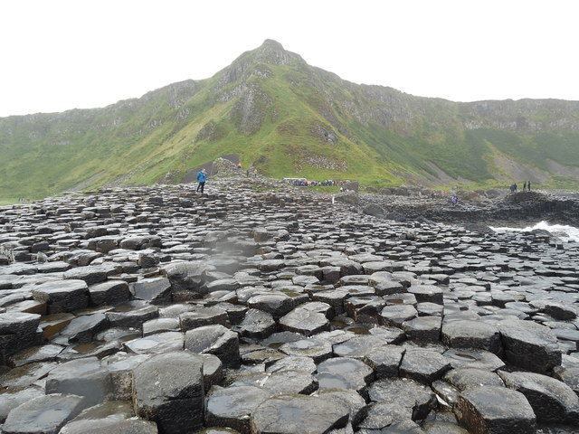 Aird Snout and the Giant's Causeway
