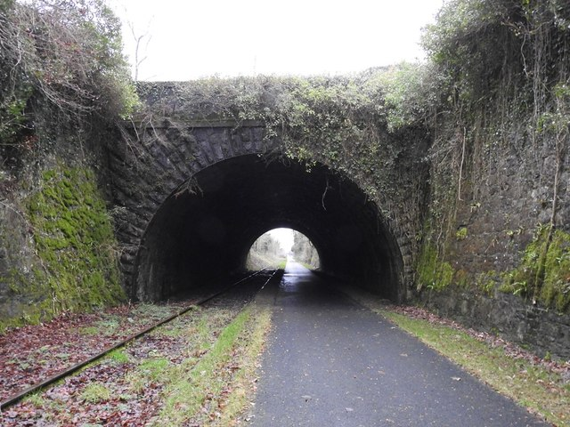 Tunnel on the Athlone to Mullingar Cycleway in Stokestown, Co. Westmeath