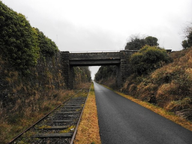 Bridge on the Athlone to Mullingar Cycleway
