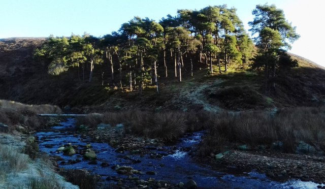 Confluence of The River Calder and East Grain