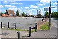 SK0405 : Disused market site, Silver Street, Brownhills by Robin Stott