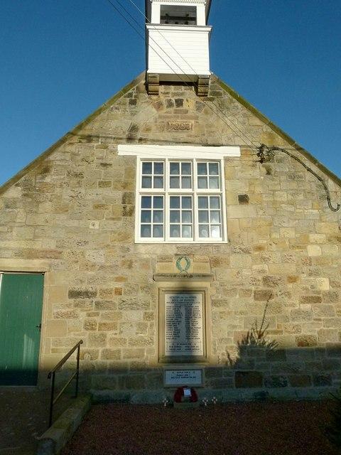 Jubilee Hall, Newton on the Moor