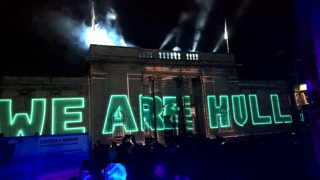 WE ARE HULL, UK City of Culture, 2017