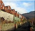 ST2293 : A back lane in Cwmcarn by Jaggery