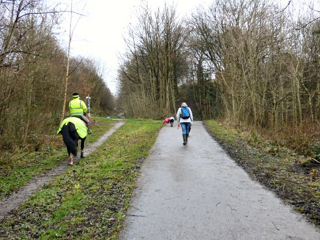 Trans Pennine Trail at Swains Valley