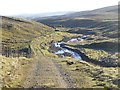 NY8034 : The valley of Harwood Beck by Oliver Dixon