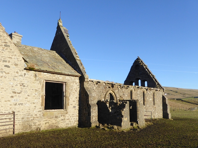 Old chapel at Harwood