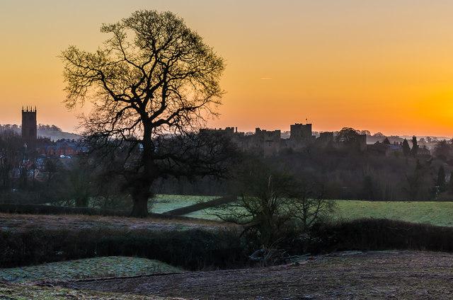 Ludlow at dawn
